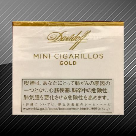 ダビドフ ミニシガリロ ゴールド Davidof Mini Cigarilos GOLD