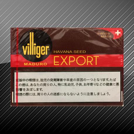 ビリガー エクスポート マデューロ Villiger EXPORT MADURO