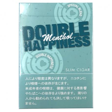 ダブルハピネス メンソール DOUBULE HAPPINESS Menthol