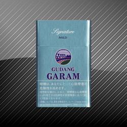 【クレテックタバコ】ガラム シグネーチャー・マイルド GUDANG GARAM Signuter Mild