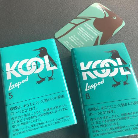 【格安タバコ】【新製品】【人気爆発中!】KOOL Looped クール・ループドるー