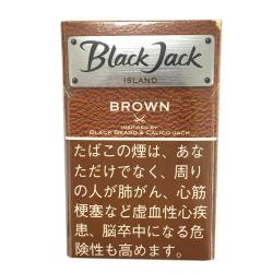 【格安タバコ】ブラックジャック アイランド ブラウン Black Jack ISLAND Brown